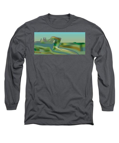 Painted Riverland Long Sleeve T-Shirt