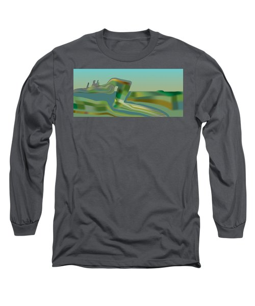 Painted Riverland Long Sleeve T-Shirt