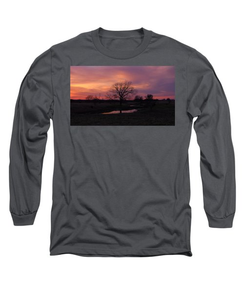 Painted Sky Long Sleeve T-Shirt by Ricardo J Ruiz de Porras