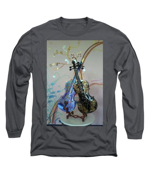 Painted Violins Long Sleeve T-Shirt