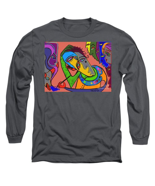 Painters Block Long Sleeve T-Shirt