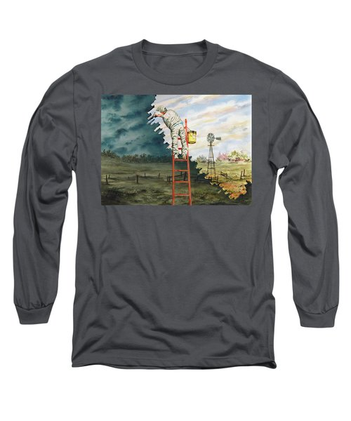 Paintin Up A Storm Long Sleeve T-Shirt