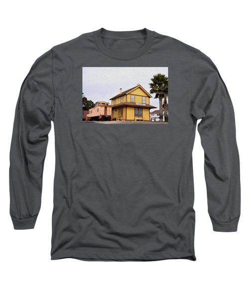 Painting Oceano Depot Museum Long Sleeve T-Shirt