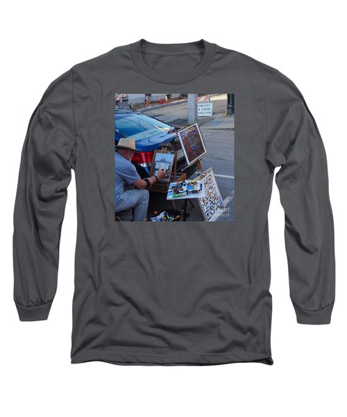 Painting Penhallow Long Sleeve T-Shirt