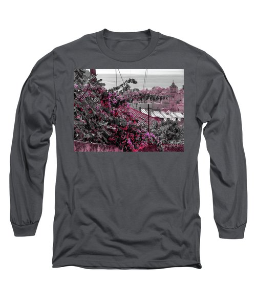Painting The Town Red Long Sleeve T-Shirt