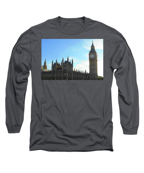 Palace Of Westminster And Big Ben Long Sleeve T-Shirt