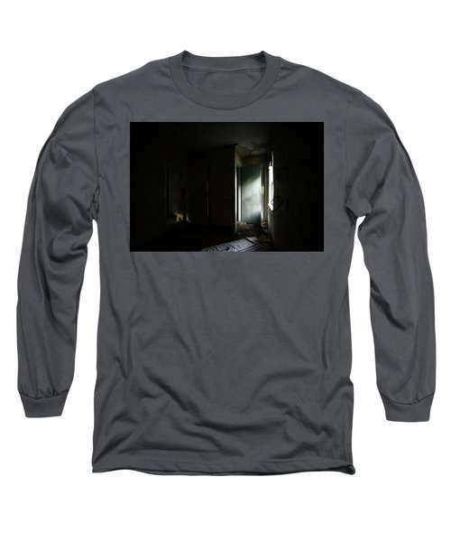 Pale Green Door Long Sleeve T-Shirt