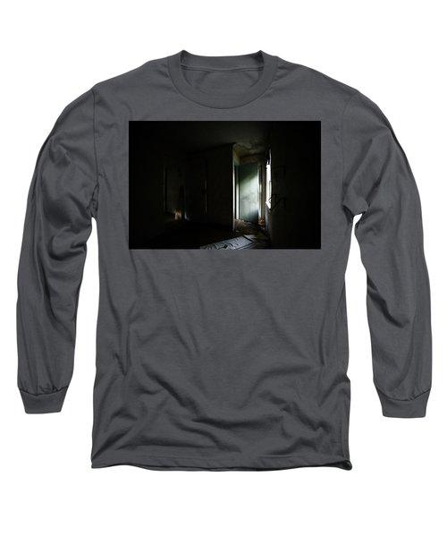 Pale Green Door Long Sleeve T-Shirt