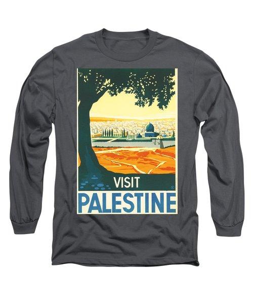 Palestine Long Sleeve T-Shirt
