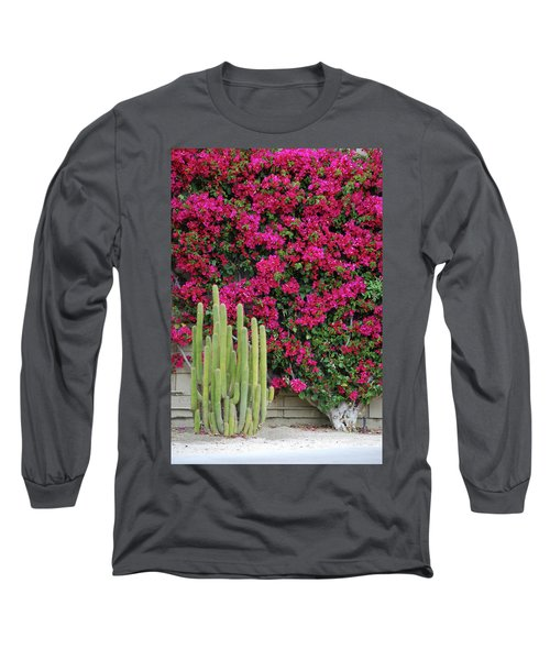 Palm Desert Blooms Long Sleeve T-Shirt