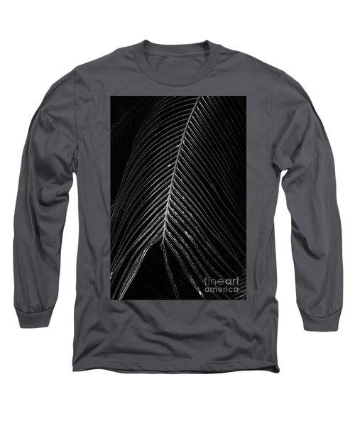 Long Sleeve T-Shirt featuring the photograph Palm Leaf by Deborah Benoit