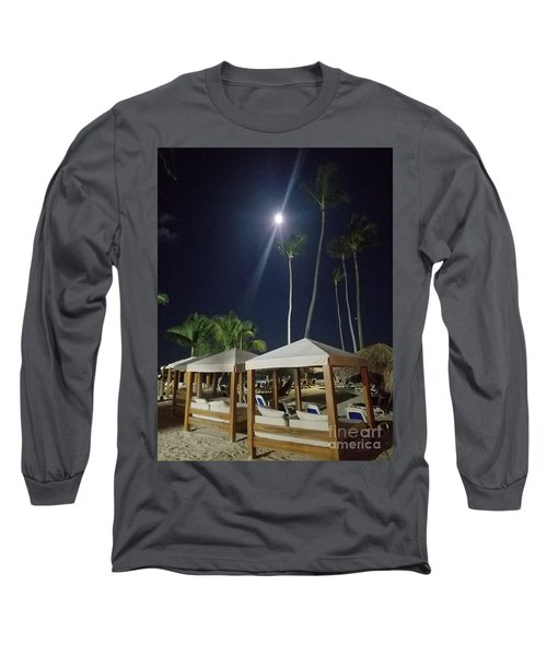 Palm Moon Long Sleeve T-Shirt