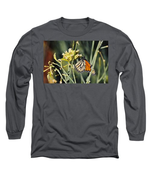 Long Sleeve T-Shirt featuring the photograph Palm Springs Monarch by Kyle Hanson