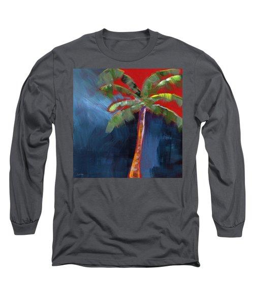 Palm Tree- Art By Linda Woods Long Sleeve T-Shirt
