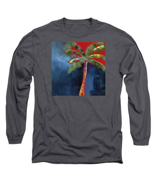 Palm Tree- Art By Linda Woods Long Sleeve T-Shirt