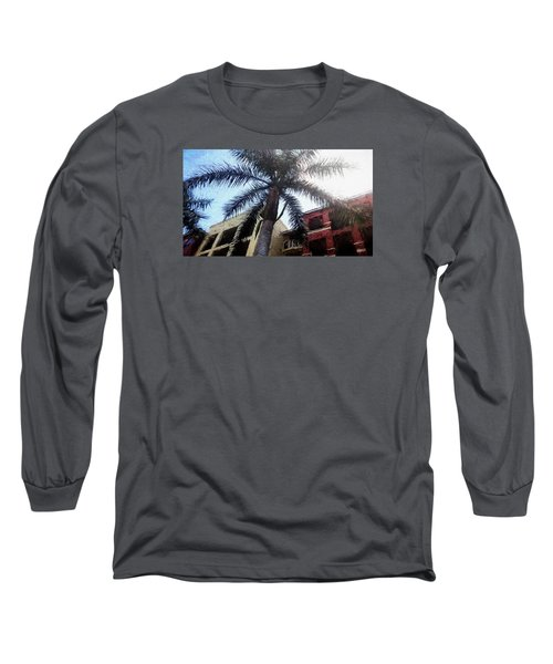 Palm Tree Art Long Sleeve T-Shirt