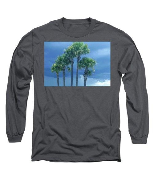 Palmy Skies Long Sleeve T-Shirt
