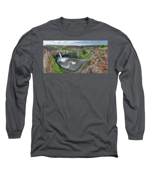 Palouse Falls In The Spring Long Sleeve T-Shirt