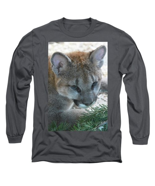 Long Sleeve T-Shirt featuring the photograph Palus by Laddie Halupa