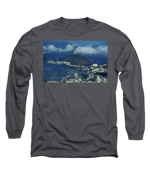 Pan De Azucar - Rio De Janeiro Long Sleeve T-Shirt