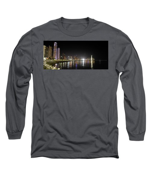 Panama City Night Long Sleeve T-Shirt