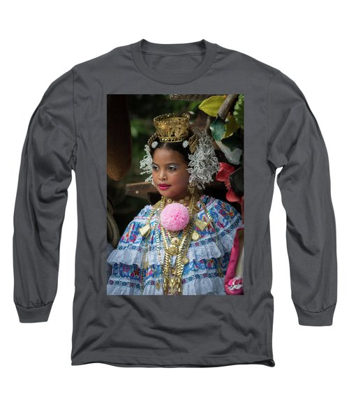 Panamanian Queen Of The Parade Long Sleeve T-Shirt