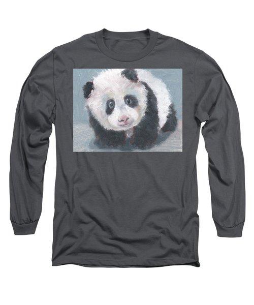Panda For Panda Long Sleeve T-Shirt by Jessmyne Stephenson