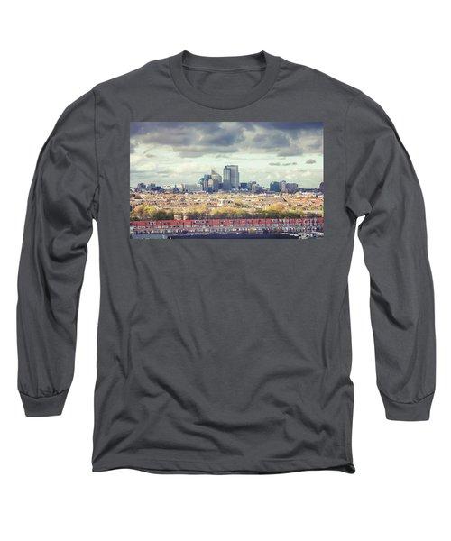 panorama of the Hague modern city Long Sleeve T-Shirt