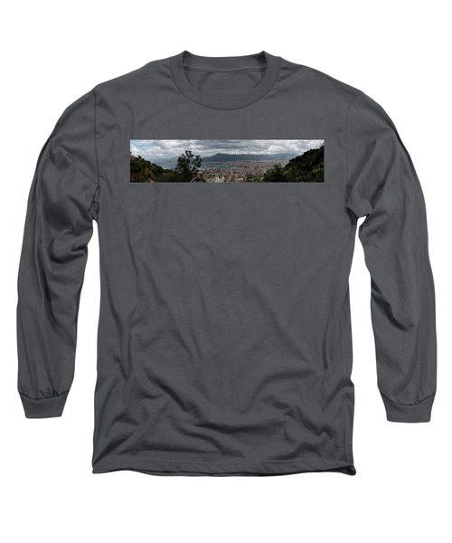 Panorama Palermo Long Sleeve T-Shirt by Patrick Boening
