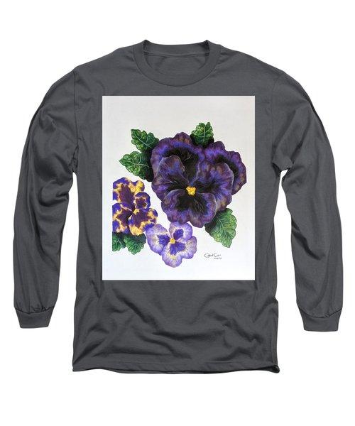 Pansy Long Sleeve T-Shirt