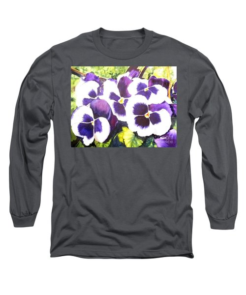 Pansy Party Long Sleeve T-Shirt