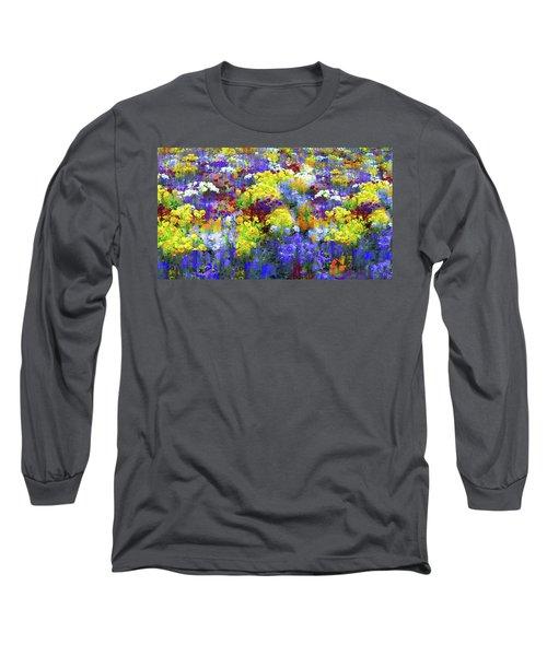 Pansy Pleasure Long Sleeve T-Shirt