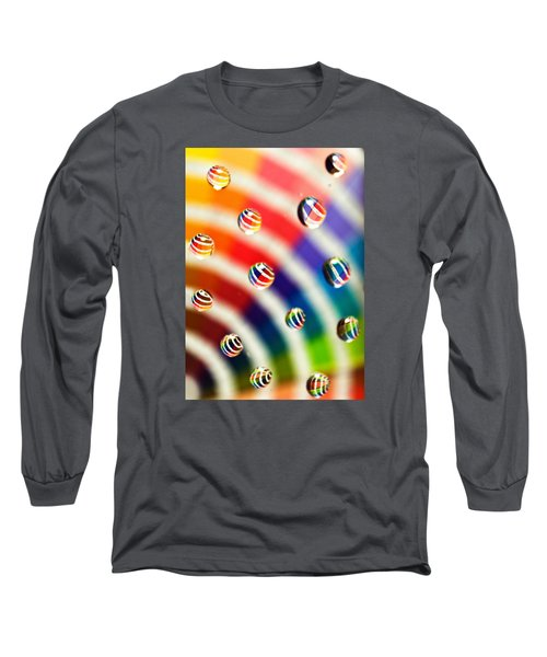 Pantone Bubbles Long Sleeve T-Shirt by Shawna Rowe