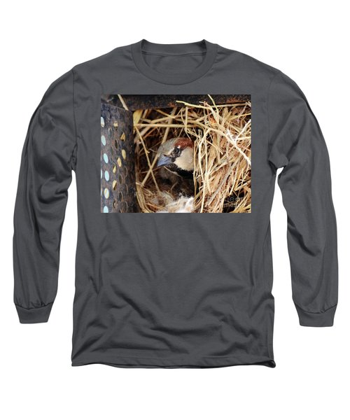 Papa Bird Long Sleeve T-Shirt