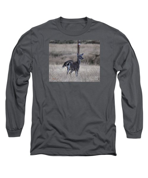 Papa Deer Long Sleeve T-Shirt