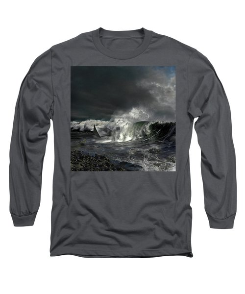 Paper Boat Long Sleeve T-Shirt