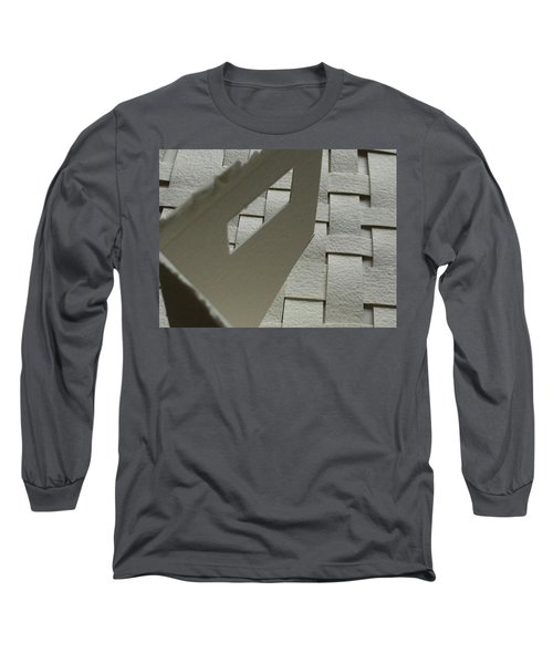 Paper Structure-2 Long Sleeve T-Shirt