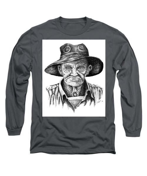 Pappy Long Sleeve T-Shirt by Lawrence Tripoli