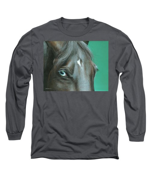 Long Sleeve T-Shirt featuring the painting Pappy by Mike Brown