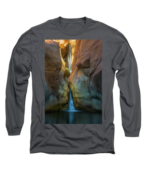 Long Sleeve T-Shirt featuring the photograph Paradise Falls by Darren White