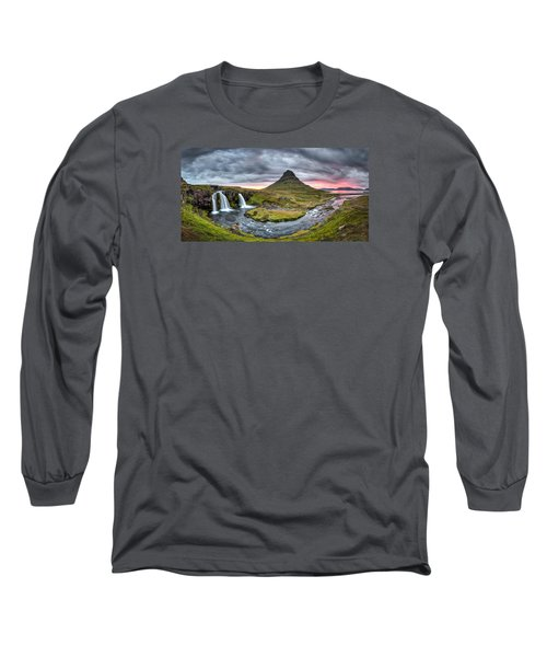 Paradise Found - Panorama Long Sleeve T-Shirt by Brad Grove