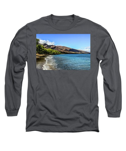 Long Sleeve T-Shirt featuring the photograph Paradise by Joann Copeland-Paul