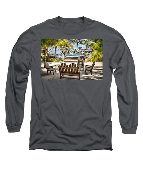 Long Sleeve T-Shirt featuring the photograph Paradise by Lawrence Burry