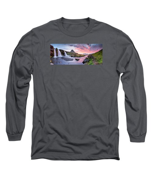 Paradise Lost - Large Panorama Long Sleeve T-Shirt by Brad Grove