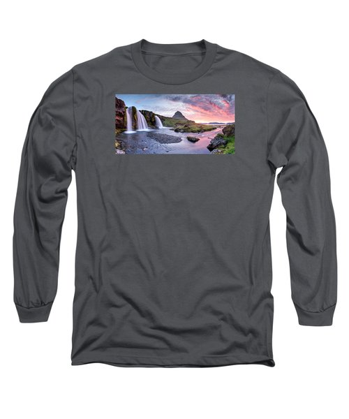 Paradise Lost - Panorama Long Sleeve T-Shirt by Brad Grove