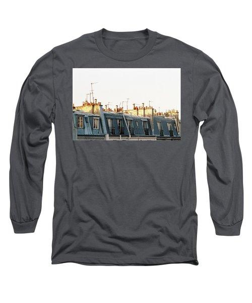 Paris Rooftops Long Sleeve T-Shirt