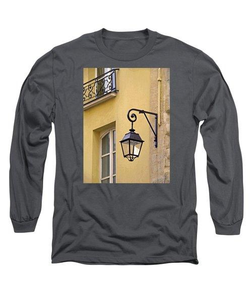 Paris Street Lamp Long Sleeve T-Shirt