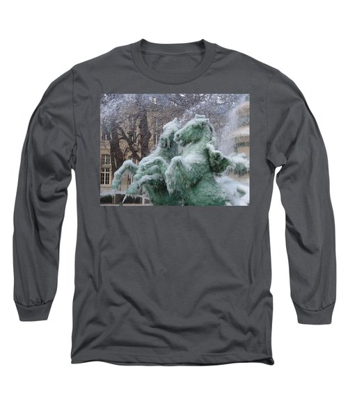 Paris Winter Long Sleeve T-Shirt