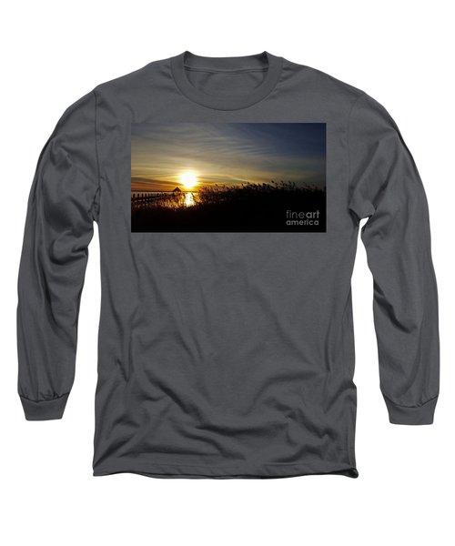 Park Sunset 3 Long Sleeve T-Shirt