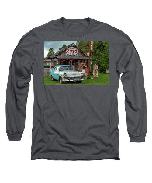 Parked At Ferland Motor Company Long Sleeve T-Shirt